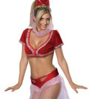 Womens Jeannie Halloween Costumes