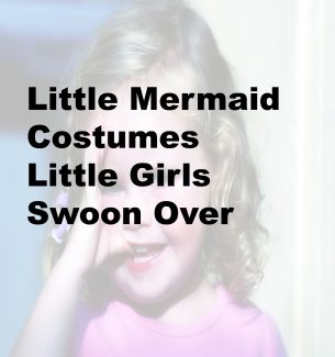 Little Mermaid Costumes Little Girls Swoon Over