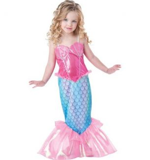 Mermaid Halloween Costumes for Girls