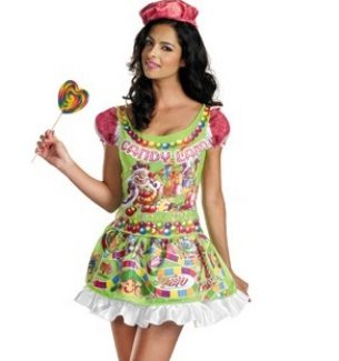 Sexy Candyland Halloween Costume for Women