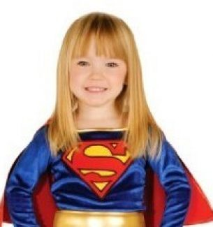 Supergirl Halloween Costumes for Women and Children
