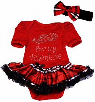 Valentines Tutu Costume for Toddlers