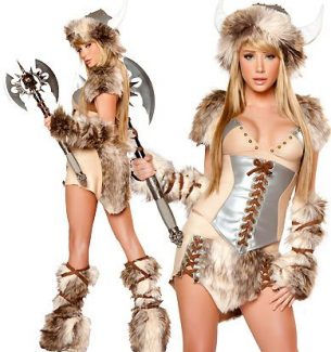 Viking Halloween Costume for Women