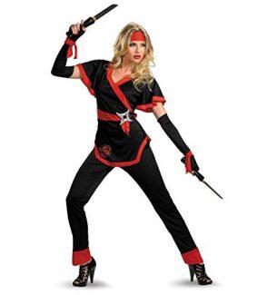 Ladies Ninja Halloween Costumes