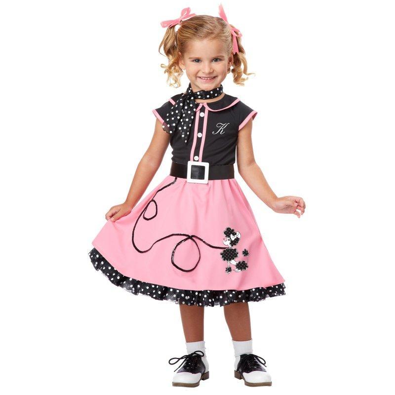 Girls Poodle Skirt