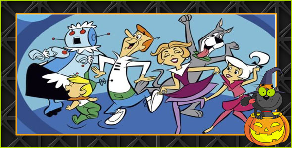 Jetson Family Halloween costumes