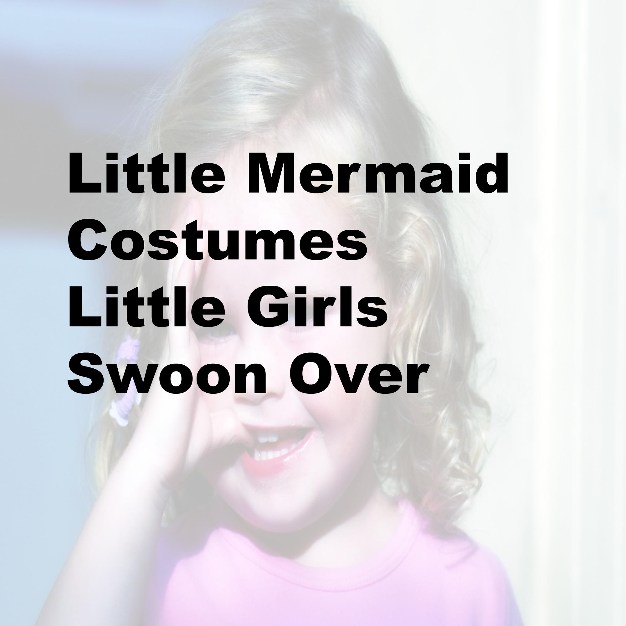 little mermaid costumes little girls