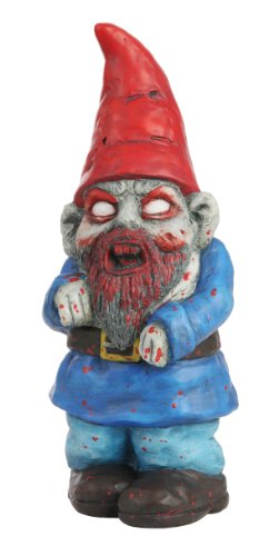 Zombie Gnome Garden Statue Yard Decorations
