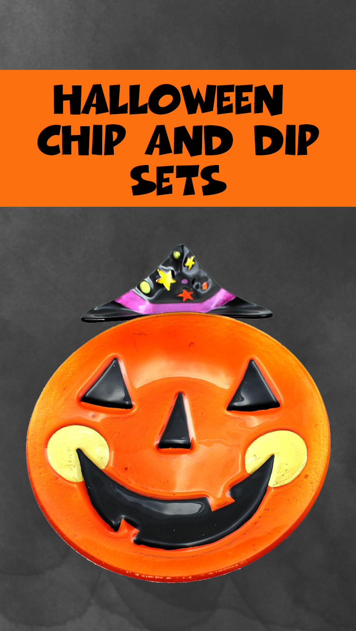 Halloween Chip and Dip Sets