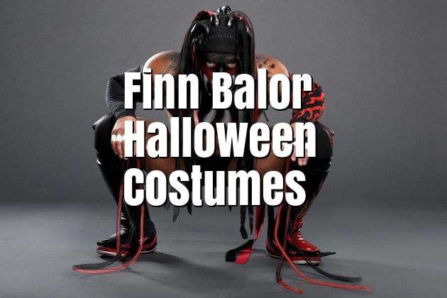 WWE Finn Balor Halloween Costumes