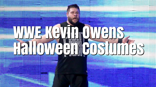 WWE Kevin Owens Halloween Costumes