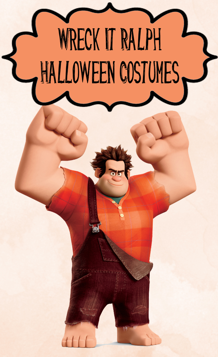 A good thing about Wreck It Ralph Halloween Costumes is that the overalls and shirt can be worn after Halloween.