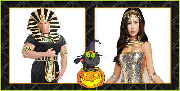 Sexy Pharaoh and Queen Couples Costumes